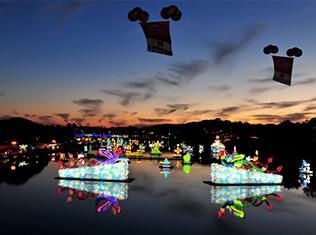 Jinju Namgang Yudeung(Lantern) Festival