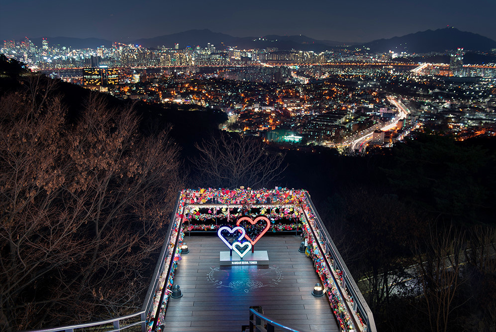 One of the Best Places for Tourists in Seoul, N Seoul Tower!!